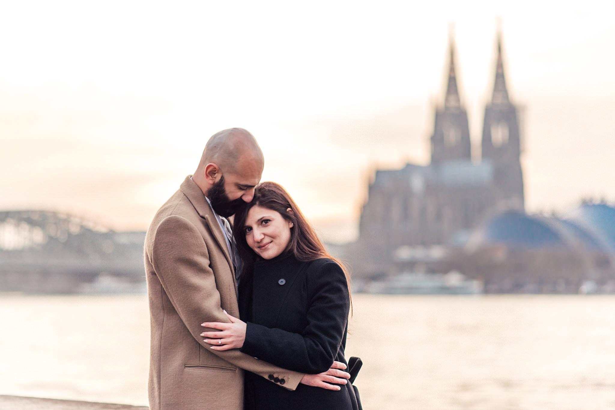 Verlobungsshooting Köln, Hochzeitsfotograf Köln