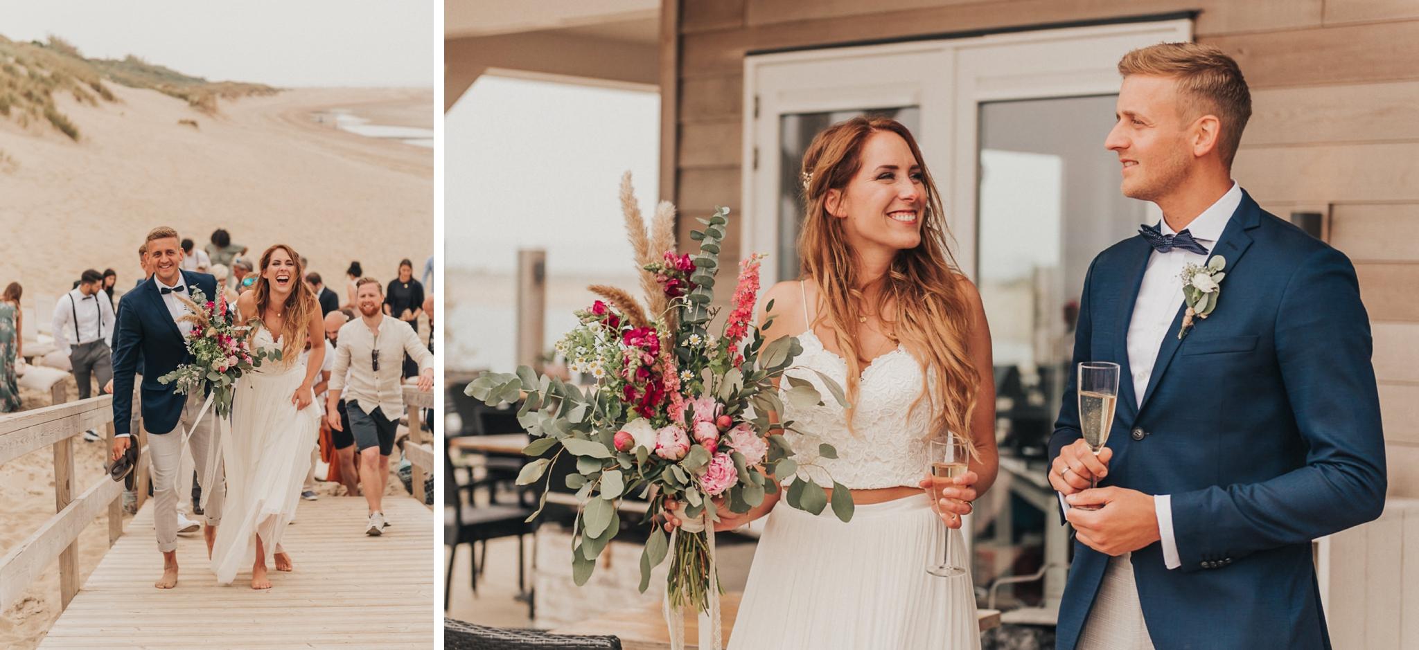 Strandhochzeit Niederlande, Strandhochzeit Holland, Hochzeitsfotograf, Beach wedding